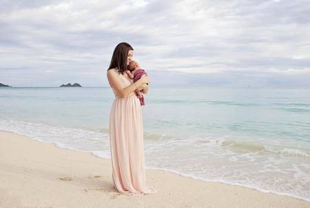 island babies | alice k photography, hawaii maternity