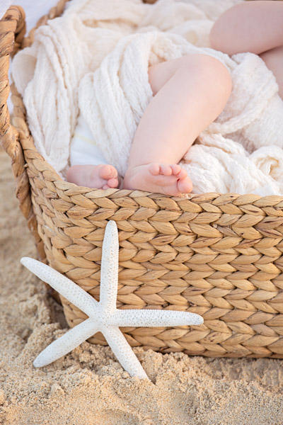 40 Oahu Hawaii newborn photography beach
